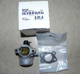Kohler Carburetor - Part No. 12 853 177-S FKA 12 853 159-S