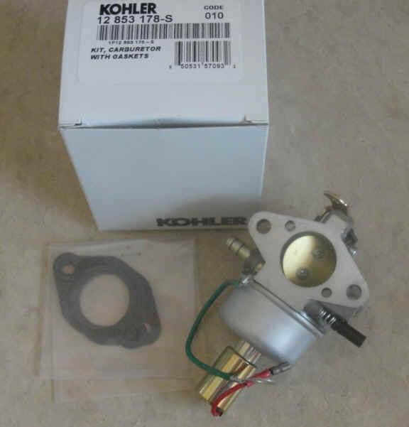 Kohler Carburetor - Part No. 12 853 178-S