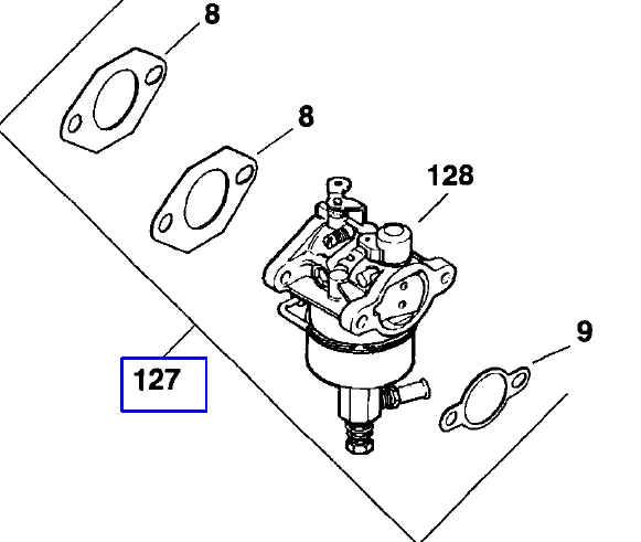 Kohler Carburetor - Part No. 12 853 25-S