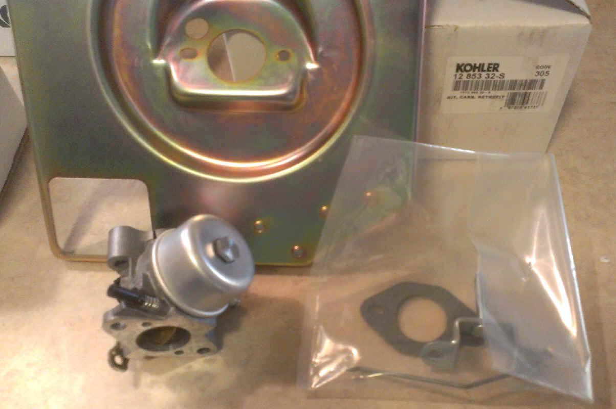 Kohler Carburetor - Part No. 12 853 32-S