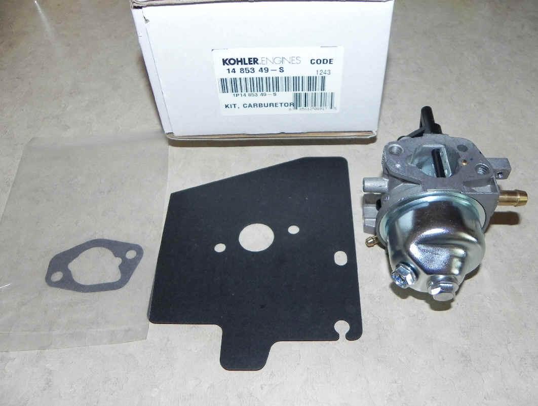Kohler Carburetor - Part No. 14 853 49-S