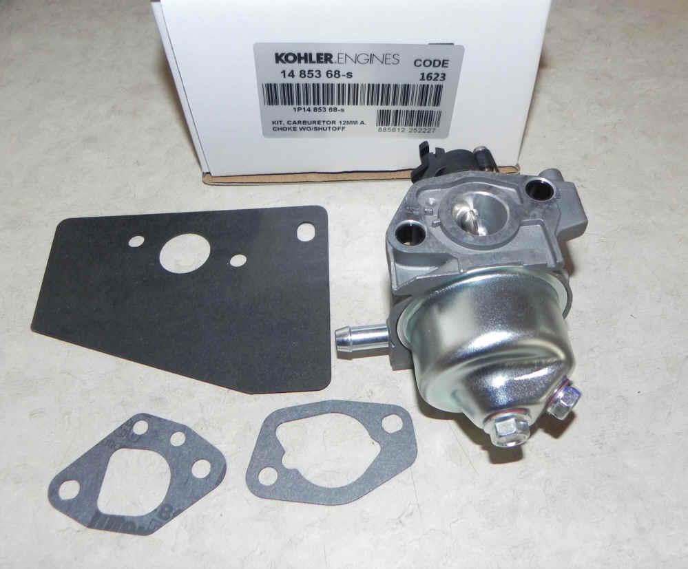 Kohler Carburetor - Part No. 14 853 68-S