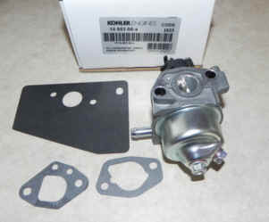 Kohler Carburetor - Part No. 14 853 68-S