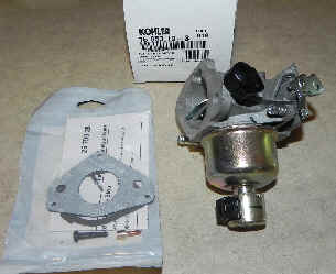 Kohler Carburetor - Part No. 16 853 19-S