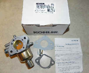 Kohler carburetors for Small Engines