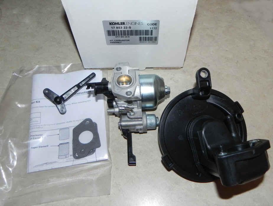 Kohler Carburetor - Part No. 17 853 22-S