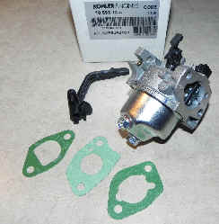 Kohler Carburetor - Part No. 18 853 13-S