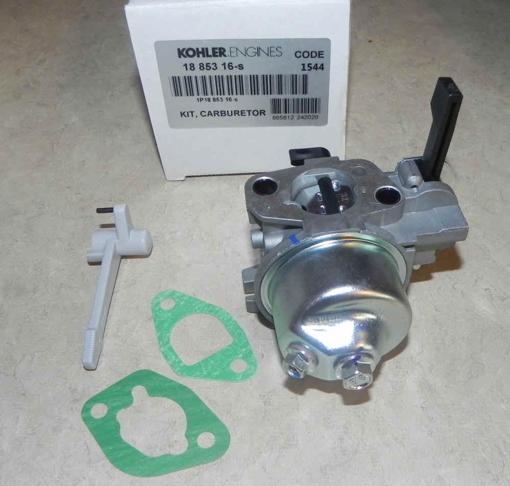 Kohler Carburetor - Part No. 18 853 16-S