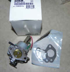 Kohler Carburetor - Part No. 20 853 33-S