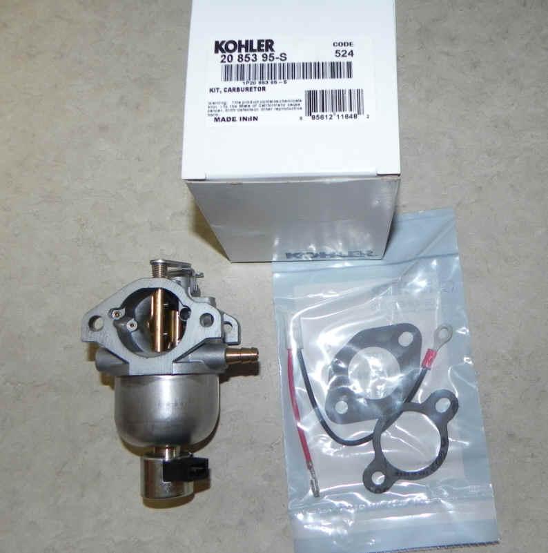 Kohler Carburetor - Part No. 20 853 95-S