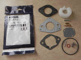 Kohler Carburetor Repair Kit 24 757 18-S