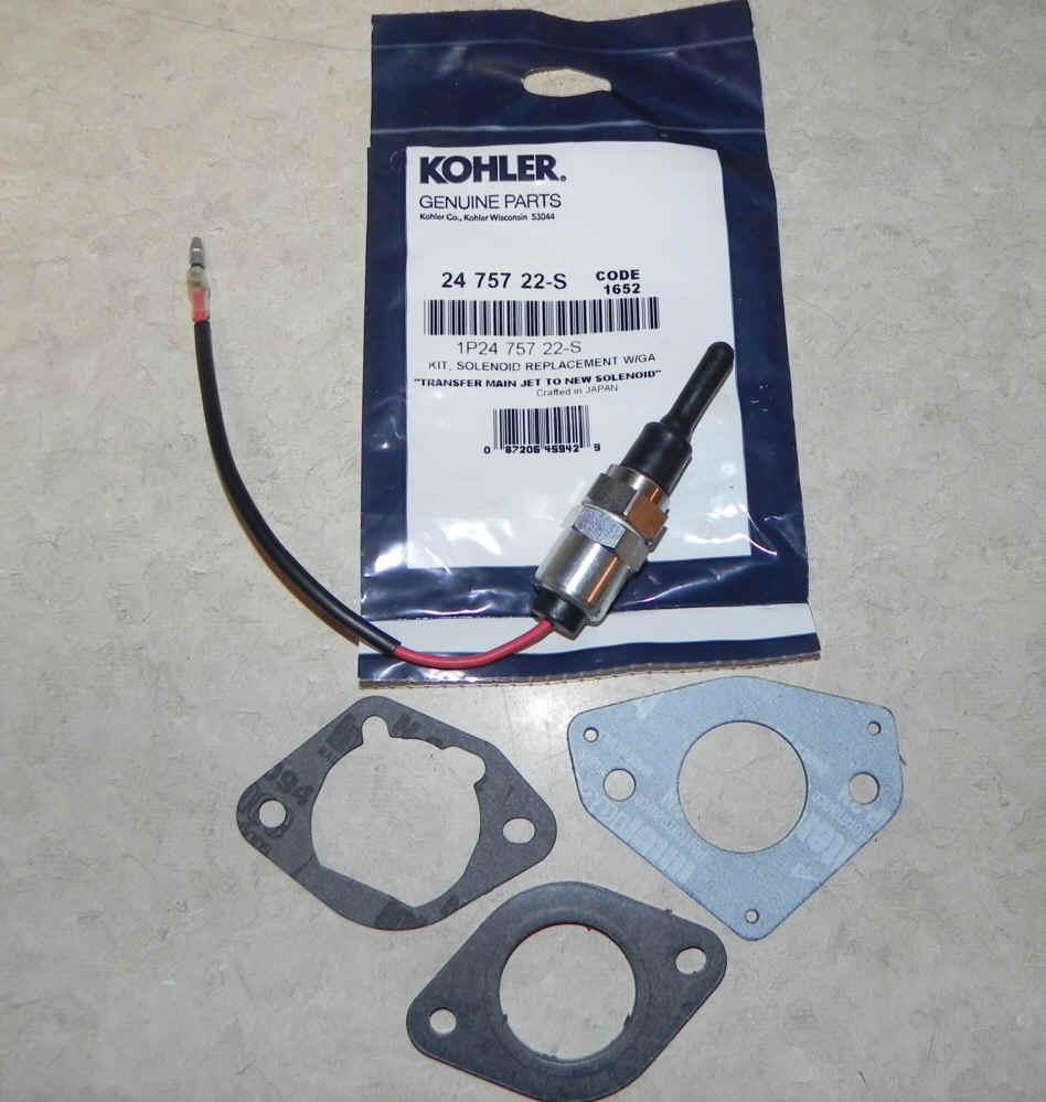 Kohler Solenoid Repair Kit 24 757 22-S