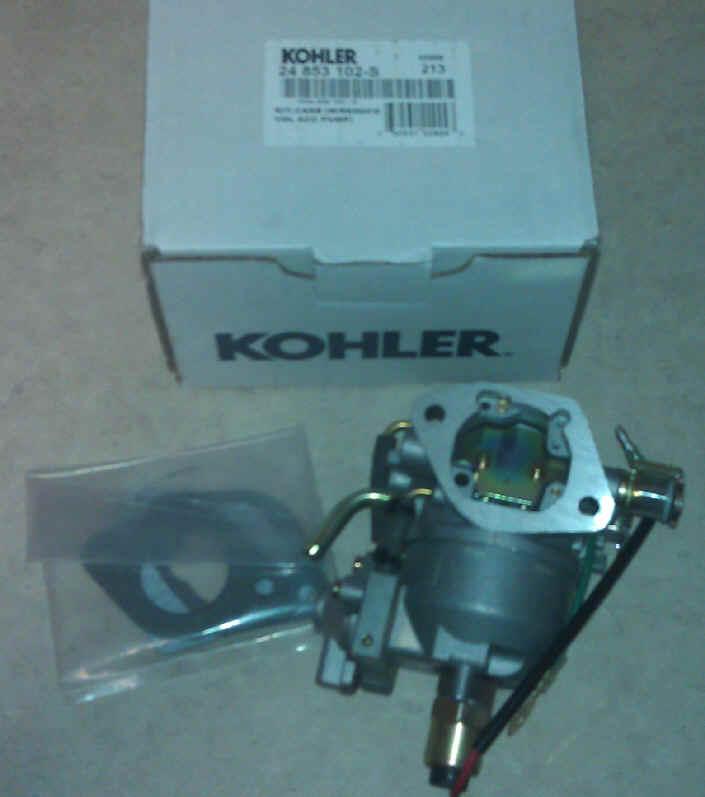 Kohler Carburetor - Part No. 24 853 102-S