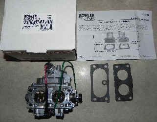 Kohler Carburetor - Part No. 24 853 113-S