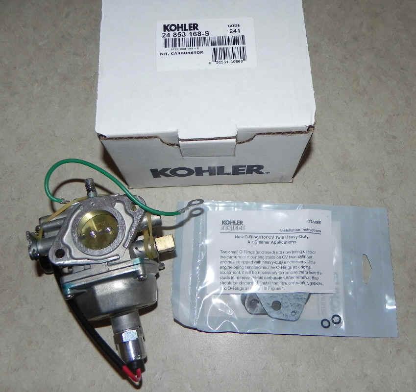 Kohler Carburetor - Part No. 24 853 168-S
