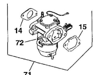 Kohler Carburetor - Part No. 24 853 16-S