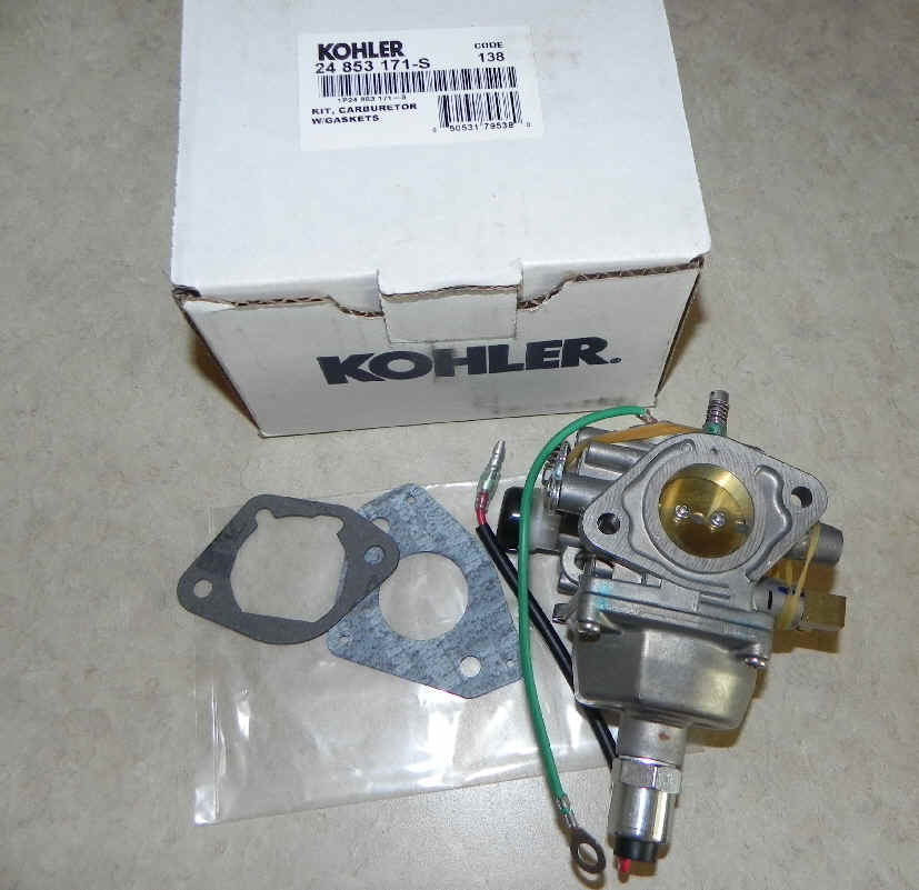Kohler Carburetor - Part No. 24 853 171-S FKA 24 853 97-S