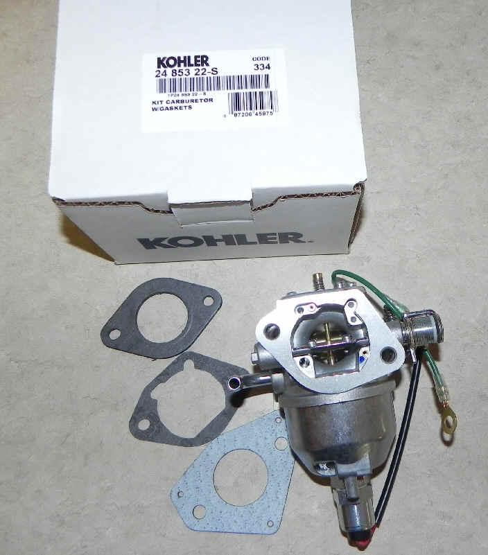 Kohler Carburetor - Part No. 24 853 22-S