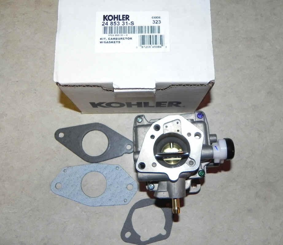 Kohler Carburetor - Part No  24 853 31-S