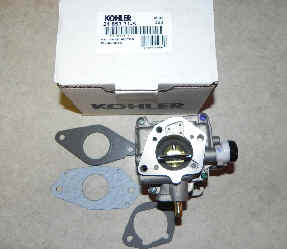 Kohler Carburetor - Part No. 24 853 31-S