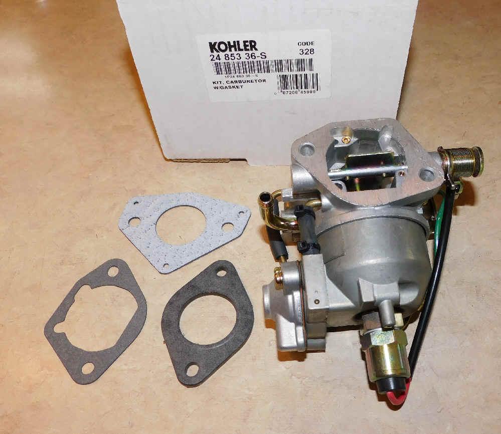 Kohler Carburetor - Part No. 24 853 36-S