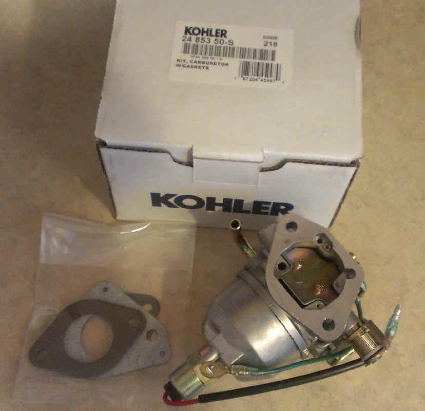 Kohler Carburetor - Part No. 24 853 50-S