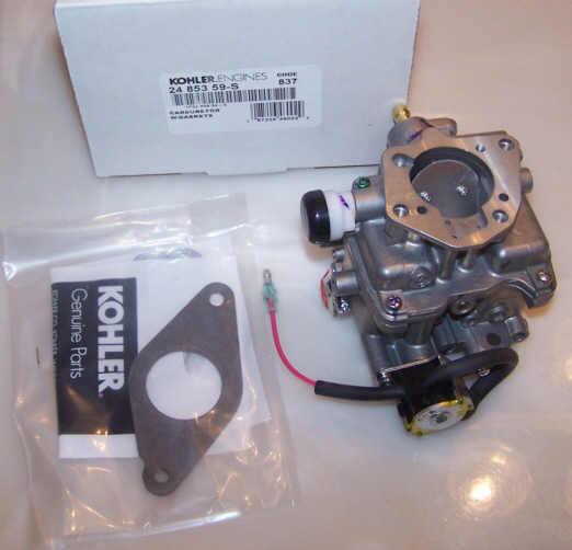 Kohler Carburetor - Part No. 24 853 311-S