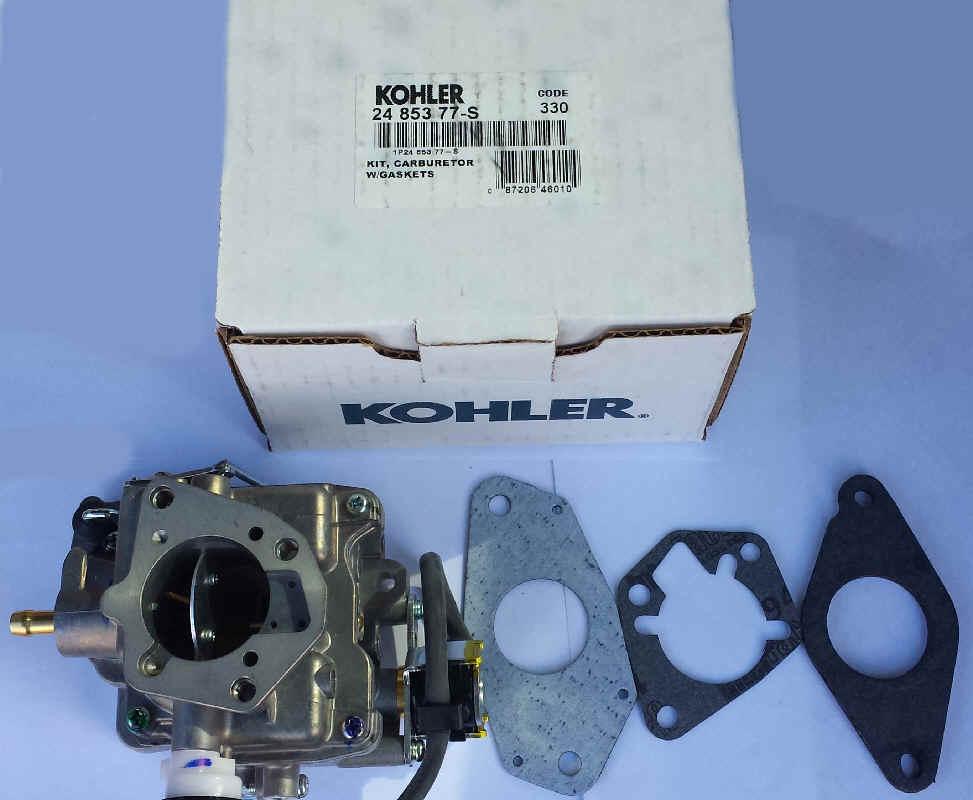 Kohler Carburetor - Part No. 24 853 77-S
