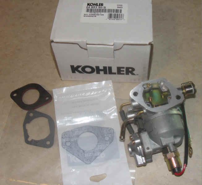 Kohler Carburetor - Part No. 24 853 90-S