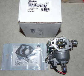 Kohler Carburetor - Part No. 24 853 92-S