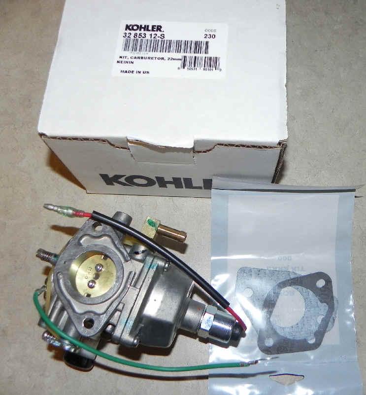 Kohler Carburetor - Part No. 32 853 12-S