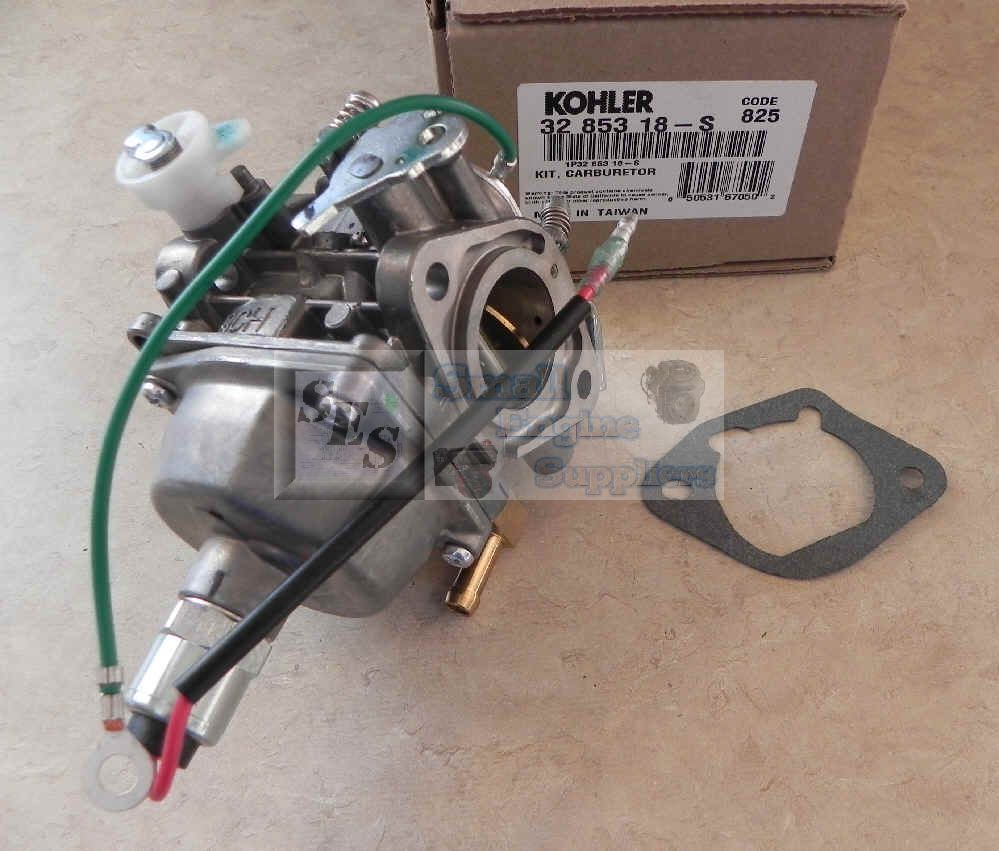 Kohler Carburetor - Part No. 32 853 18-S - Missing Choke Cover