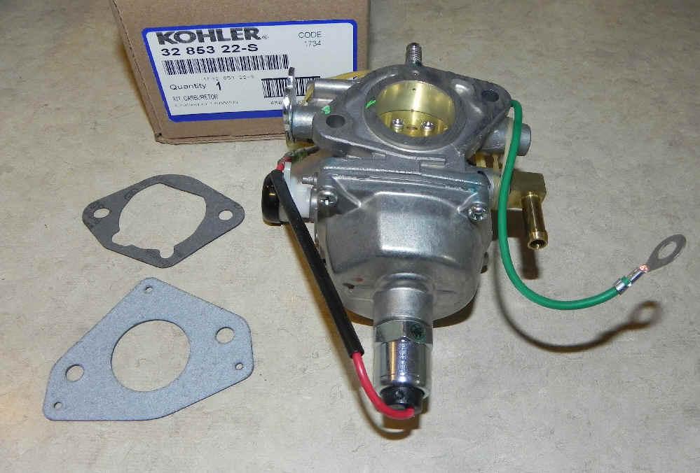Kohler Carburetor - Part No. 32 853 22-S