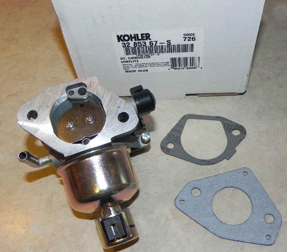 Kohler Carburetor - Part No. 32 853 67-S
