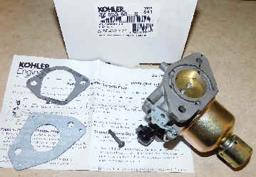 Kohler Carburetor - Part No. 32 853 68-S