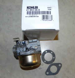 Kohler Carburetor - Part No. 41 853 08-S