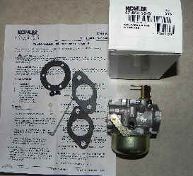 Kohler Carburetor - Part No. 47 853 35-S