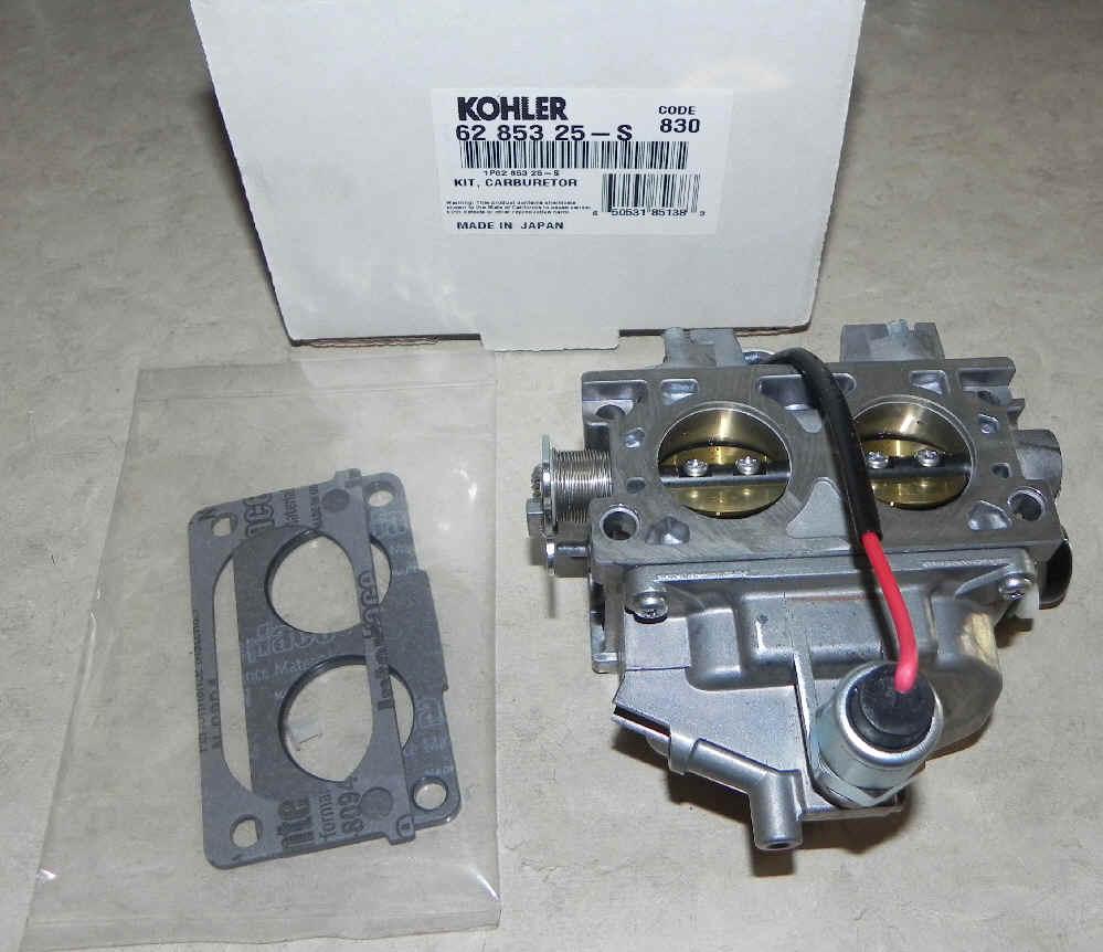 Kohler Carburetor - Part No. 62 853 25-S
