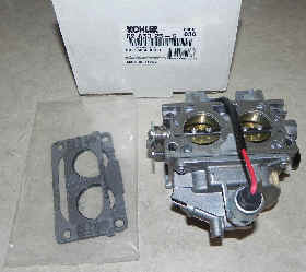 Kohler Carburetor - Part No. 62 853 25-S