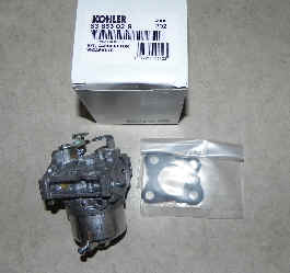Kohler Carburetor - Part No. 63 853 02-S