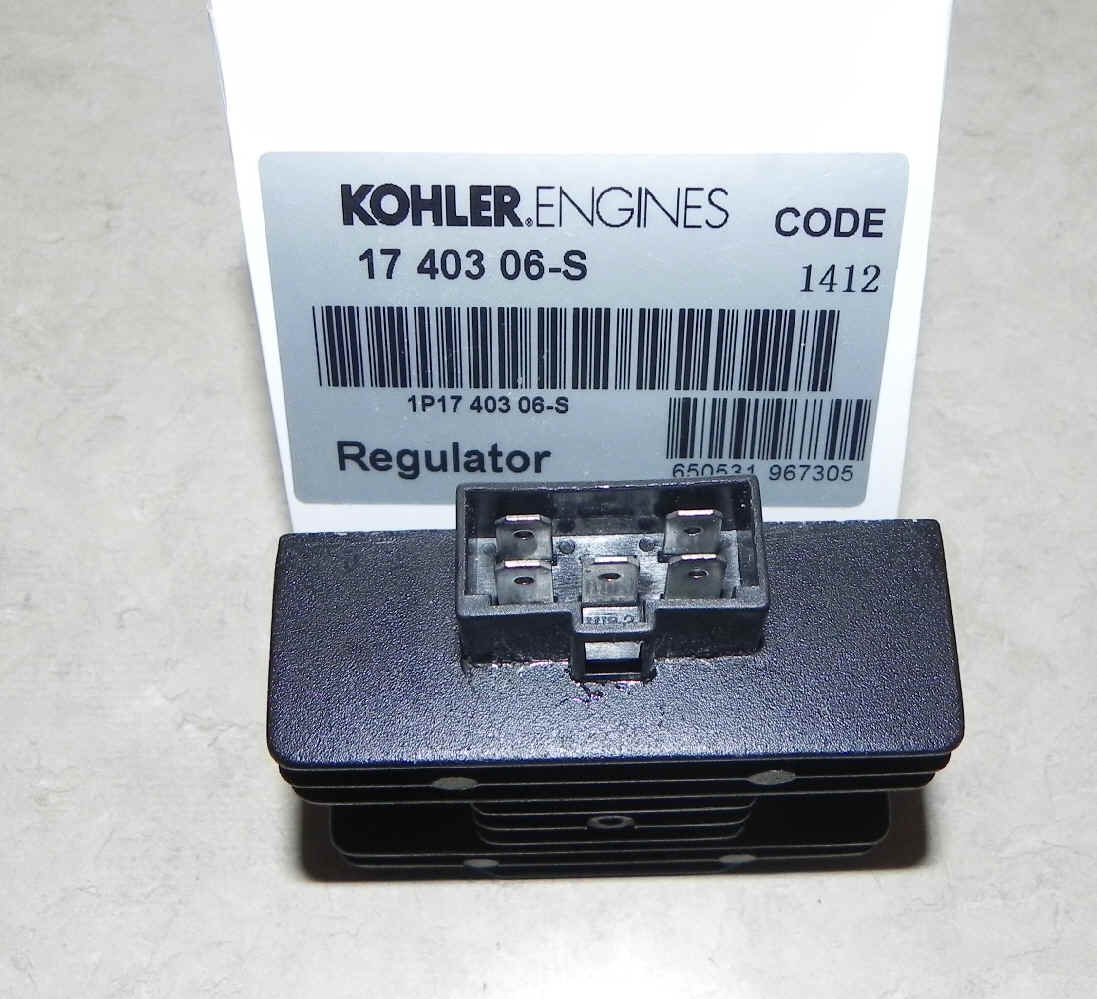 Kohler REGULATOR Part No 17 403 06-S