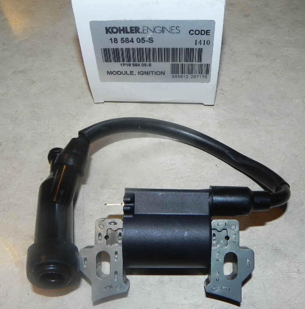 Kohler Ignition Coil Part No. 18 584 05-S