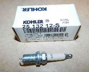 Kohler Spark Plug Part No 25 132 12-S