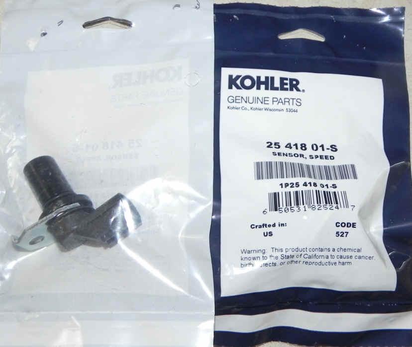 Kohler Speed Sensor Part No 25 418 01-S
