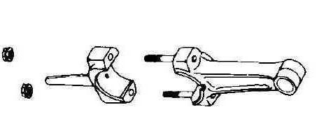 Kohler Connecting Rod - Part No. 41 067 11-S  10 Under Rod