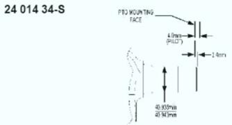 Kohler Crankshaft - Part No. 24 014 361-S