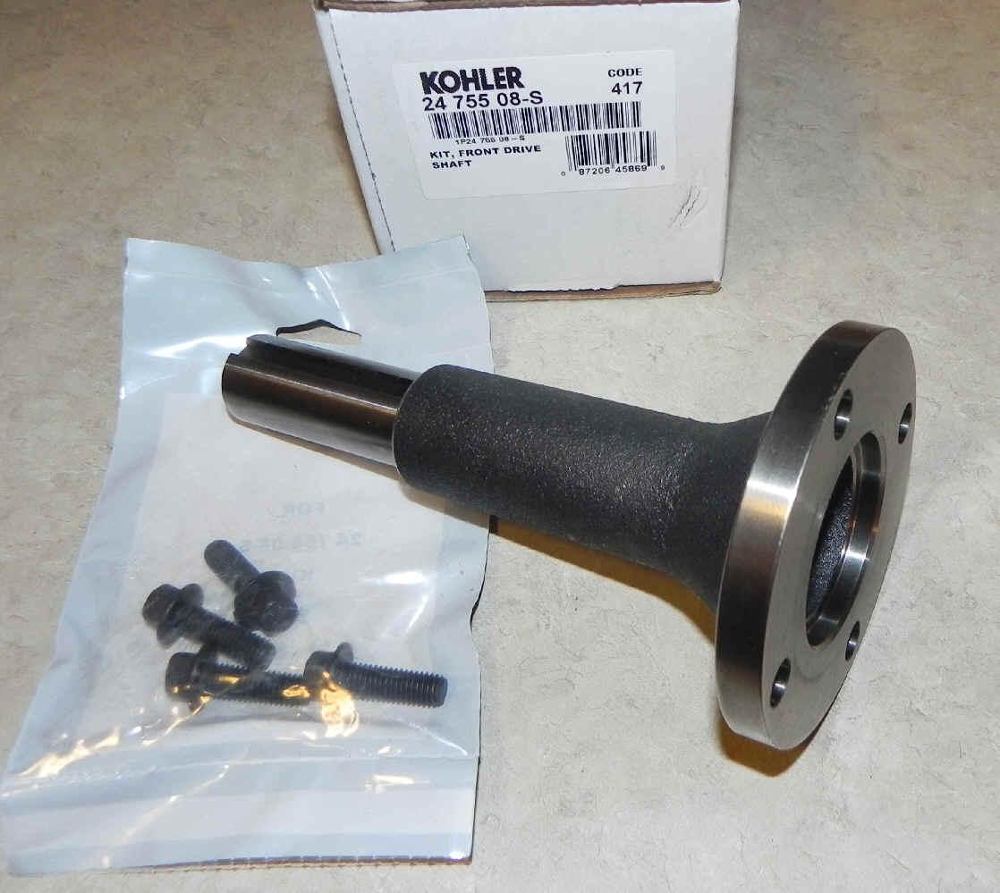Kohler Stub Shaft - Part No. 24 755 08-S