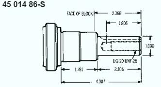 Kohler Crankshaft - Part No. 45 014 86-S
