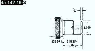 Kohler Crankshaft - Part No. 45 142 19-S