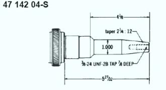 Kohler Crankshaft - Part No. 47 142 04-S